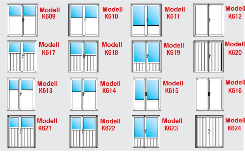 nebeneingangst r garagentor zweifl glig modell k612p wei ma anfertigung stulp ebay. Black Bedroom Furniture Sets. Home Design Ideas