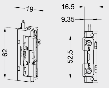 Tagesfunktion für Kunststoff Nebeneinganstüren & Haustüren (Schnäpperfuntkion)