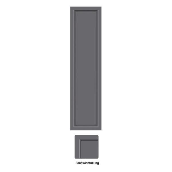 Farbe Für Aluminium : seitenteil f r aluminium haust ren farbe anthrazit ~ Watch28wear.com Haus und Dekorationen