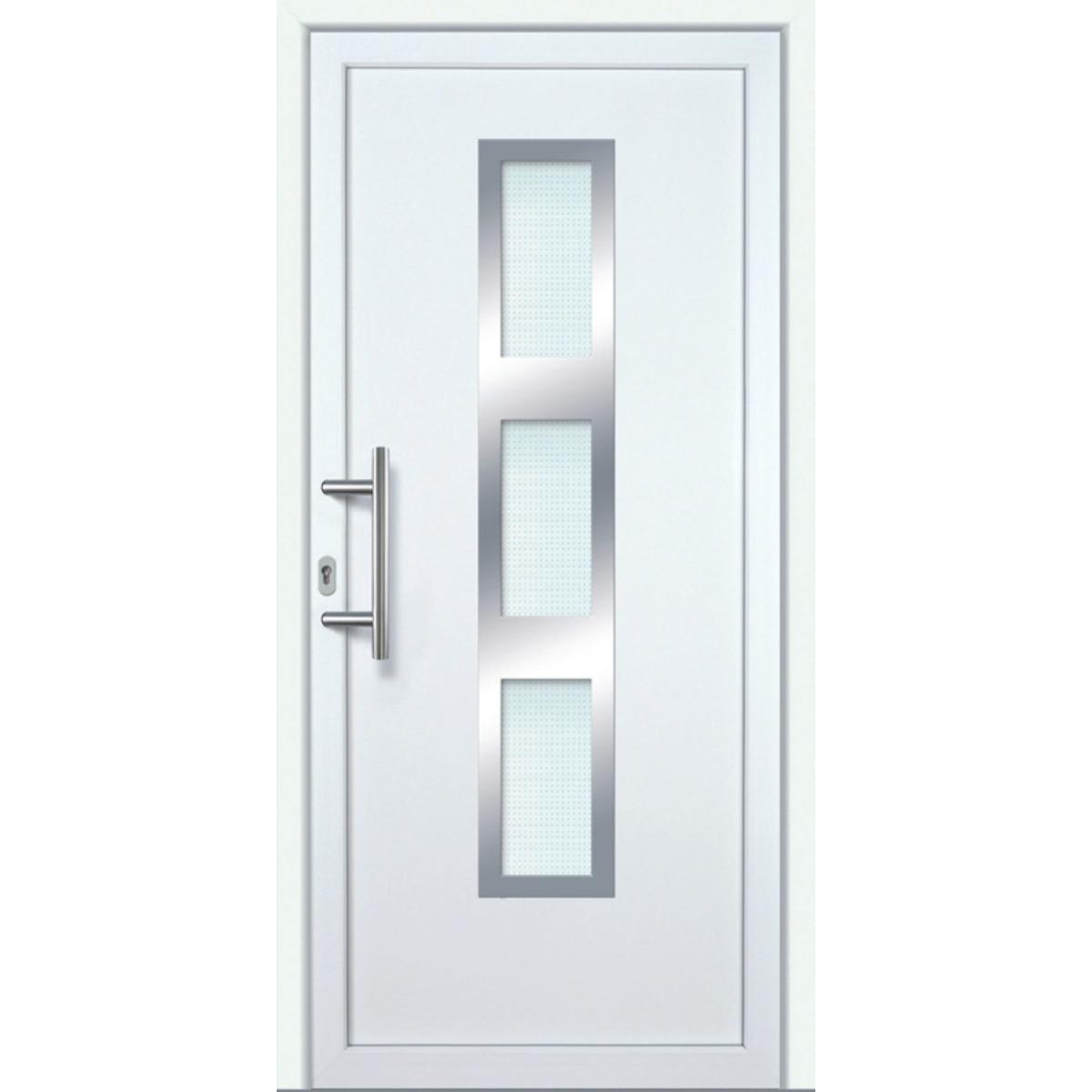 Hervorragend Kunststoff Haustür · Modell K630P · Farbe: weiß · Maßanfertigung TD22
