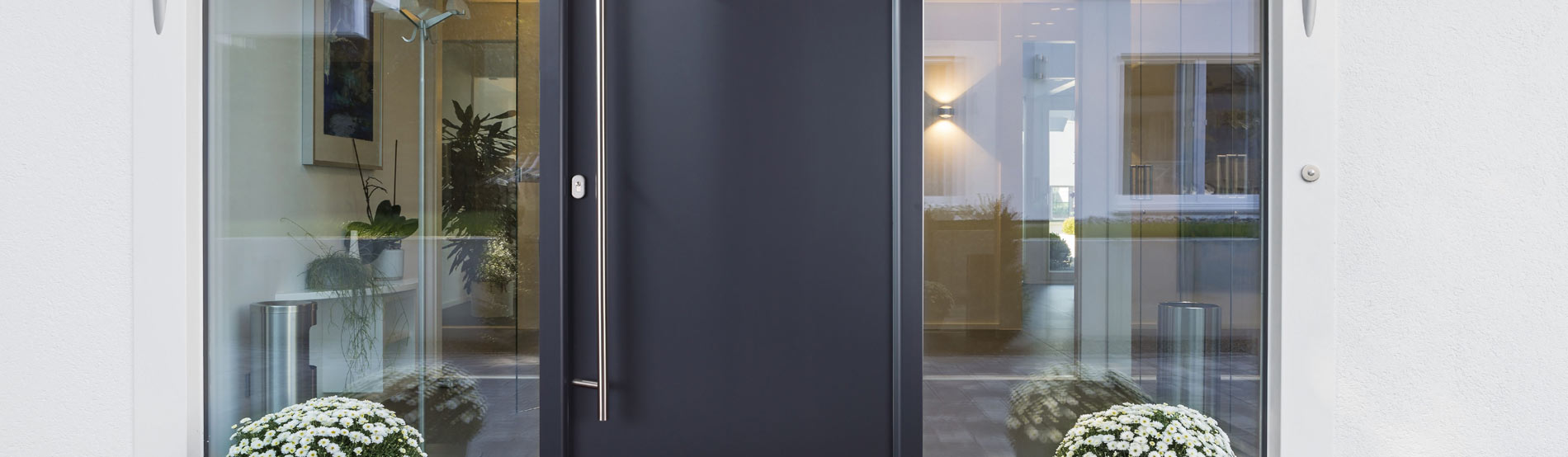 Hochwertige Aluminium Haustüren